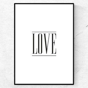love poster tavla