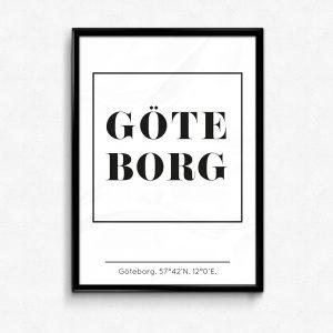 Göteborg poster & tavla