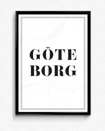 Välkommen till Göteborg poster