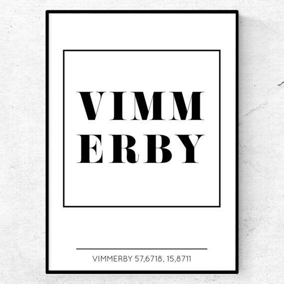vimmerby poster tavla