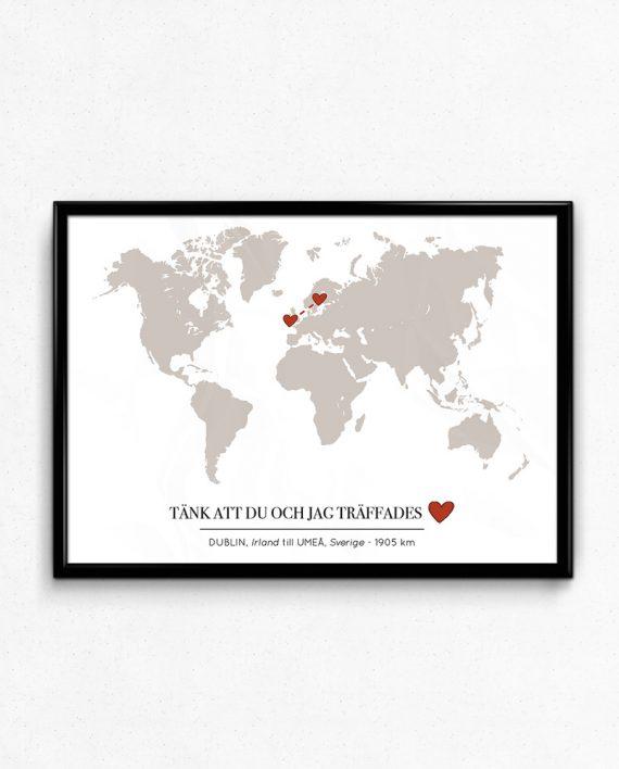 Kärlekskartan Världen