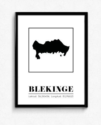 blekinge poster
