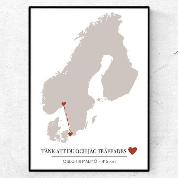 kärlekskartan skandinavien