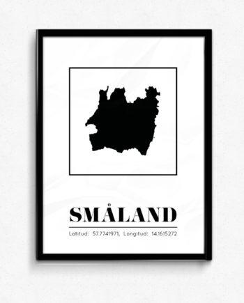 Småland poster