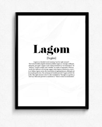 lagom poster
