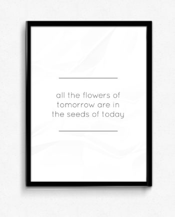 all the flowers of today poster