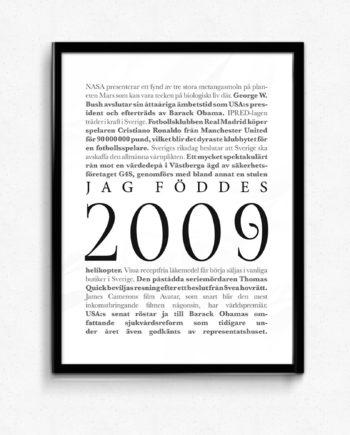 årtalsposter 2009 poster