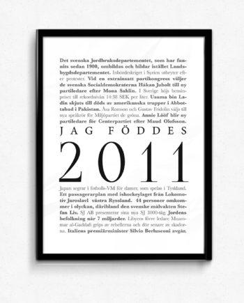 årtalsposter 2011 poster