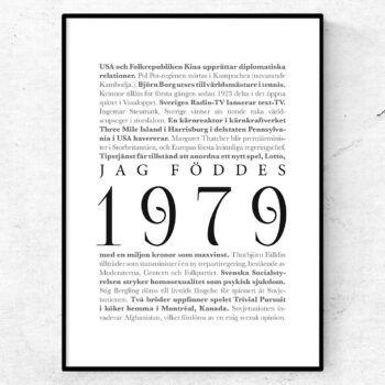 årtalsposter 1979 poster