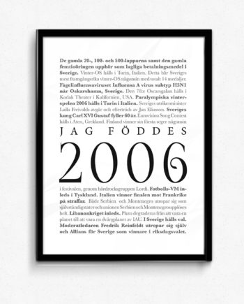 2006 poster
