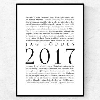 årtalsposter 2017 poster