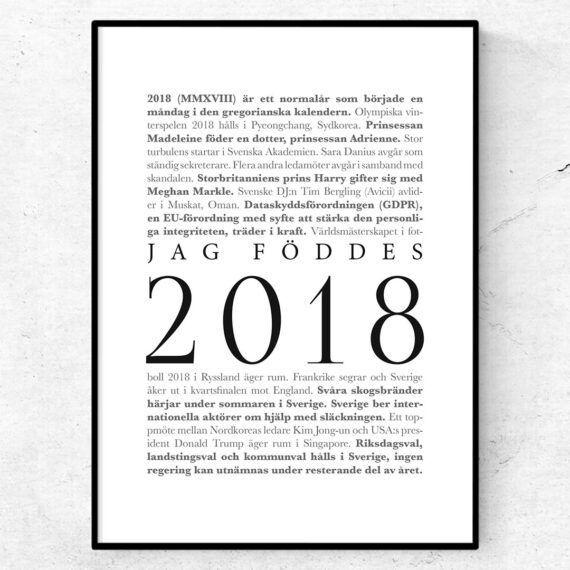 årtalsposter 2018 poster