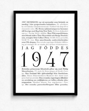1947 poster tavla
