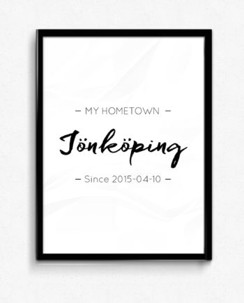 my hometown poster