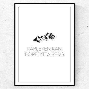 Kärleken kan flytta berg