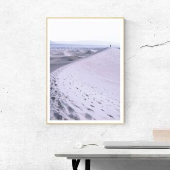 lost in sand poster