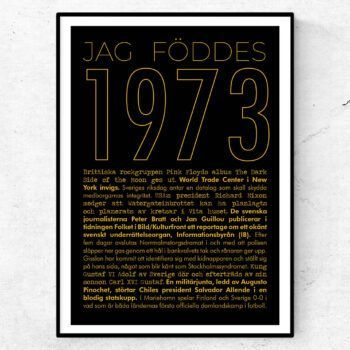 1973 guld poster