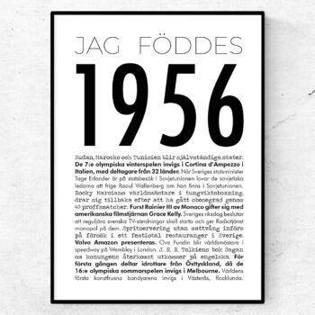 1956 modern poster