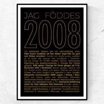 2008 guld poster